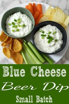 Blue Cheese Beer Dip Small Batch Recipe for Two Appetizer Dips, Best Appetizers, Appetizer Recipes, Christmas Appetizers, Side Dish Recipes, Lunch Recipes, Cooking Recipes, Side Dishes, Cream Cheese Dips