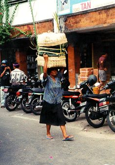 Street Vendors, Jakarta, Indonesia