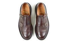 Tricker's/Double Monk Strap Shoes M7634