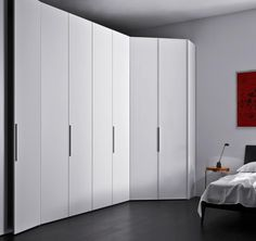 Ideal for corner spaces: Cornice Wardrobe from Campbell Watson http://www.campbellwatson.co.uk/superbasket/product/15098/Cornice+Wardrobe