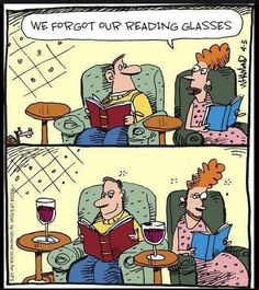 don't forget your reading glasses :) Beso de Vino. Up Book, Book Nerd, Love Book, Wine Jokes, Wine Meme, Wine Funnies, Funny Wine, Kinds Of Reading, Wine Wednesday
