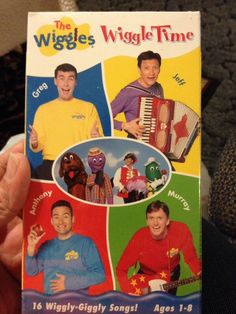 Wiggles, The: Wiggle Time (VHS, for sale online Wiggles Birthday, The Wiggles, Vhs Tapes, Kids Videos, Songs, Cool Stuff, Ebay, Song Books