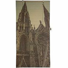 St. Patrick's Cathedral 48-inch Bamboo Blind (China)