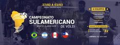 Sul-americano masculino de vôlei Durante Coletiva de Imprensa realizada na tarde desta quarta-feira (21.02), no Ginásio Poliesportivo Tancredo Neves, que será palco das partidas do Campeonato Sul-Americano de Voleibol Masculino de Clubes, entre os dias 27 de fevereiro e 03 de março, o gestor do M...
