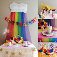 Rainbow Unicorn Party Box - The Party Box Company