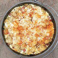 Ham-and-Cheese Strata - Rachael Ray