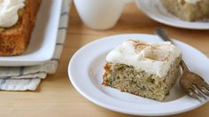Take advantage of zucchini season and bake up this warmly spiced snack cake today.