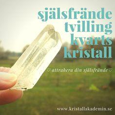 Attrahera din själsfrände, använd en själsfrändekristall! www.kristallakademin.se