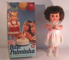 A Bate Palminha, que podia participar do Parabéns. | 30 bonecas que você tinha esquecido que fizeram parte da sua infância