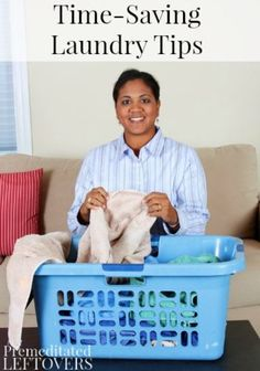 7 Time saving laundry tips, because laundry never, ever ends!