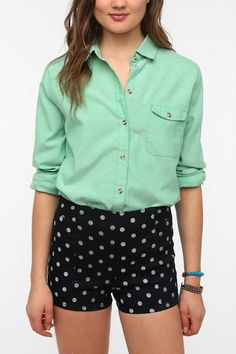 BDG Oxford Boyfriend Shirt  #UrbanOutfitters. ALL THE COLORS!