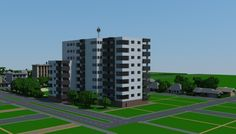 Realistic Apartment Complex: 200th Subscriber Special - LPC Minecraft Project