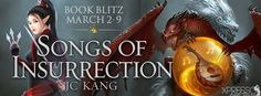 ♥Enter the #giveaway for a chance to win a $10 GC♥ StarAngels' Reviews: Book Blitz ♥ Songs of Insurrection by JC Kang ♥ #g...