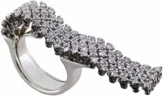 'Bologna' collection: white gold and diamonds, ct 2,23
