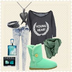 """""""Simple in Green"""" by ukisskissme on Polyvore"""
