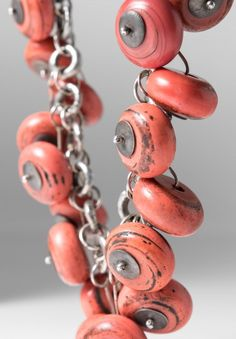 Holly Masterson 100 Year Old Glass Bead Necklace