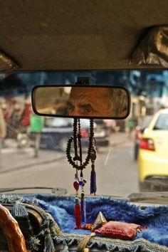 Syrian cab driver, Damascus.