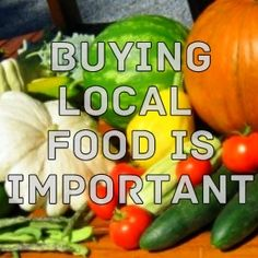 Eating Local Food