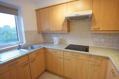 Check out this property for sale on Rightmove! - retirement flat for sale in Bartholomew Court, Warrington, - 1 Bedroom Apartment, Apartment Kitchen, Apartment Living, Simple Apartment Decor, Ceiling Light Fittings, 1 Bedroom Flat, Fitted Bathroom, Extractor Hood, Built In Wardrobe