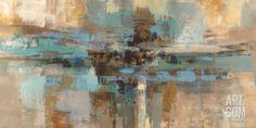 Art.fr - Tableau sur toile 'Pastel Waves' par Peter Colbert