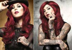 kat von d hair red hair - Google Search
