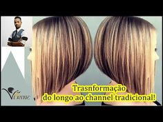 Corte Chanel espetacular completo em 10 minutos - YouTube