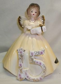 Vintage Josef Originals - Birthday Angel 15