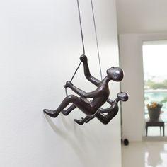Climbing Man Wall Art free climbing man sculptureancizar marin | favorite artists