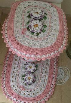 Crochet Kitchen, Crochet Home, Free Crochet, Knit Crochet, Crochet Stitches Patterns, Crochet Designs, Stitch Patterns, Crochet Doilies, Crochet Flowers