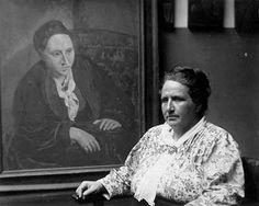 Portrait de Gertrud Stein de Pablo Picasso