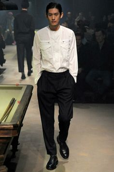 KIM  TAEHWAN - Carven Menswear Paris Fashion Week 2014 F/W