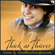 Come experience the world of Andi Carter and life in the 1870s by reading Thick as Thieves.  High quality Christian fiction that is appropriate for your teenager!!