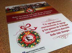 Estamos a casi 20 días de la Navidad! Sin regalos? Obsequiá Postales para colgar en el Arbolito, con diseño de autor!