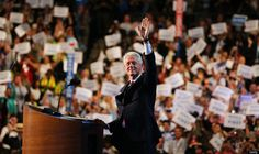 Democratic National Convention: Day 2 with President Clinton - I miss Bill!!!