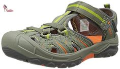 Merrell - Hydro Hiker - Sandale Mixte enfant - Multicolore (Olive/Orange) - 29 - Chaussures merrell (*Partner-Link)