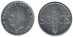 50 céntimos de Juan Carlos I Nostalgia, Do You Remember, Love Life, History, Retro, Vintage, World, Coins, Old Advertisements