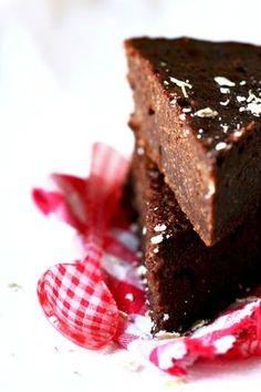 Fondant magique sarrasin-chocolat - vegan, sans gluten (au flocons de sarrasin et purée de noisette)