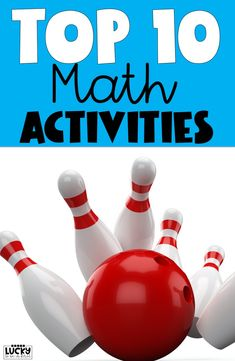 Check out my favorite ideas for 1st grade math!