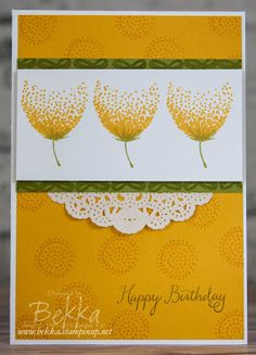 Stampin' Up! UK Feeling Crafty - Bekka Prideaux Stampin' Up! UK Independent Demonstrator: A Floral Card Made With the Balloon Celebration Stamp Set from Stampin' Up! UK