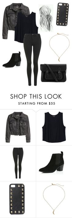 Derek hale inspired outfit by lexi-tolhurst on Polyvore featuring H&M, Topshop, River Island, The Cambridge Satchel Company, Rebecca Minkoff and Valentino