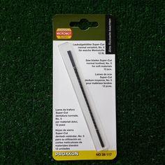 Proxxon 28117 lame da traforo supercut acciaio per legno dolce e duro plastica