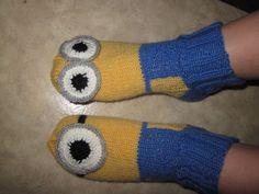 Kätyrit-sukat #Minions