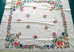 Your place to buy and sell all things handmade Hand Embroidery Videos, Embroidery Alphabet, Hand Embroidery Flowers, Hungarian Embroidery, Hand Work Embroidery, Flower Embroidery Designs, Hand Embroidery Patterns, Embroidery Kits, Machine Embroidery Designs