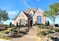 Gallery - Huntington Homes French Country House, Country Homes, Wrought Iron Staircase, Huntington Homes, Texas Homes, Stainless Steel Appliances, New Homes For Sale, Staircases, Granite Countertops