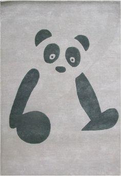 Panda barnmatta från Art For Kids hos ConfidentLiving.se