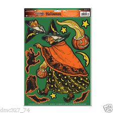 halloween decorations classic witch beistle reproduction of 1933 vintage artwork
