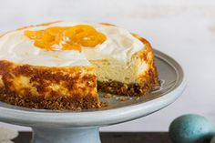 Lemon ricotta cake - Recipes - Eat Well with Bite Lemon Ricotta Cake, Lemon Curd, Coconut Cheesecake, Cheesecake Recipes, Orange And Almond Cake, Digestive Biscuits, Almond Cakes, Cake Tins, Food Processor Recipes