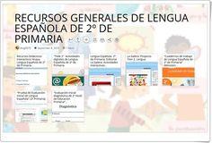 """RECURSOS GENERALES DE LENGUA ESPAÑOLA DE 2º DE PRIMARIA"""