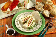 Terrina di peperoni e formaggio