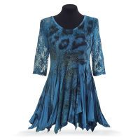 Peacock and Lace Tunic, like this